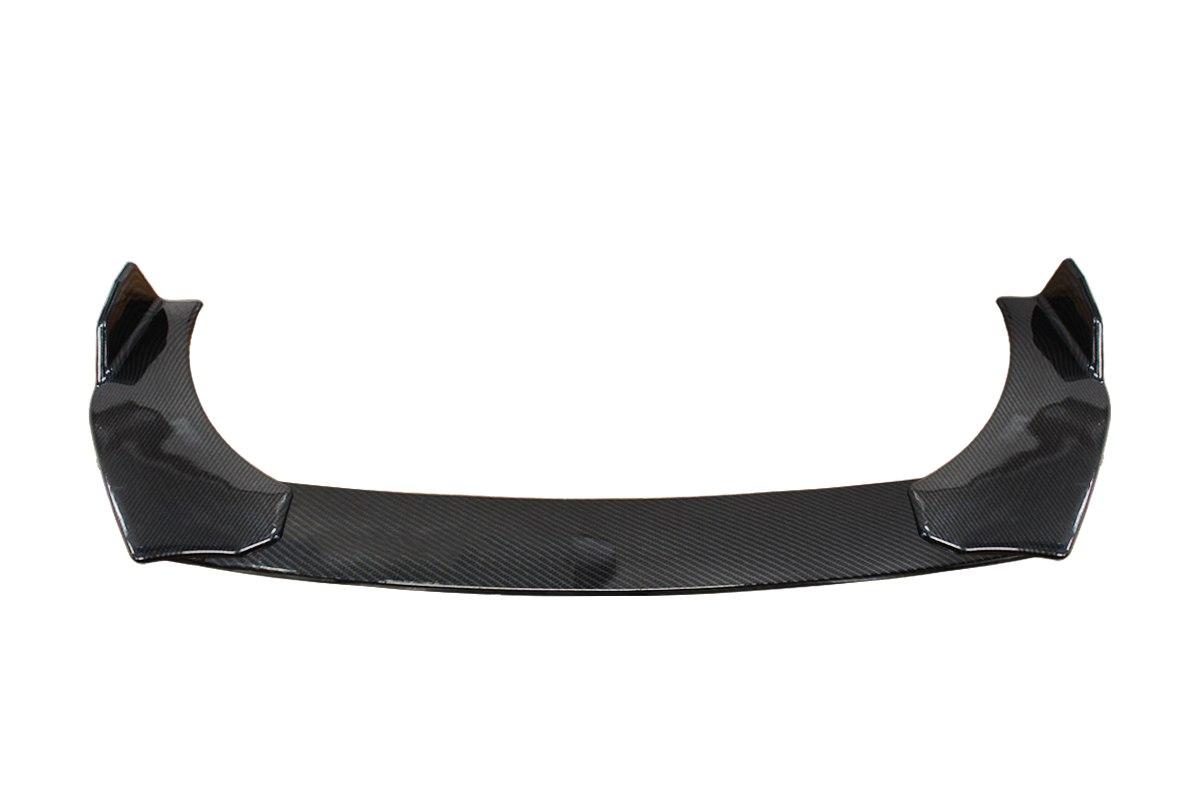 Uniwersalny splitter przedniego zderzaka 3cz. Carbon Look - GRUBYGARAGE - Sklep Tuningowy